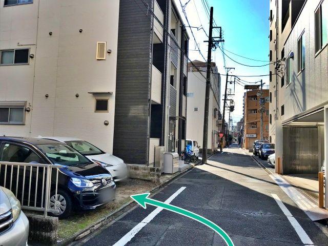 駐車場周辺