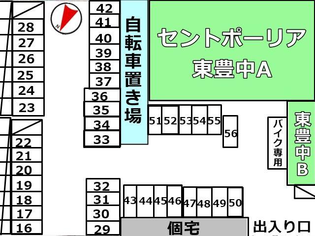 5 区画図確認のうえ、必ず予約したスペースにご駐車ください。