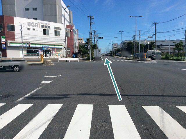 【新木場二丁目】交差点写真