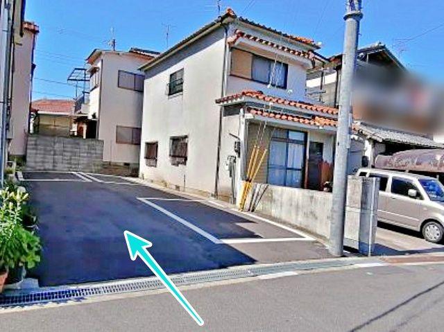 大阪府堺市美原区平尾2648-48駐車場の写真