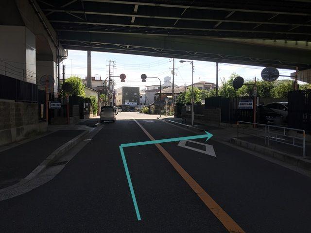 【道順7】当駐車場の向いにもakippa駐車場があります。【姫島第3駐車場】の看板がある駐車場が当駐車場です。