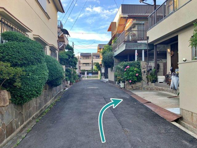 西田辺駅まで徒歩10分駐車場の写真