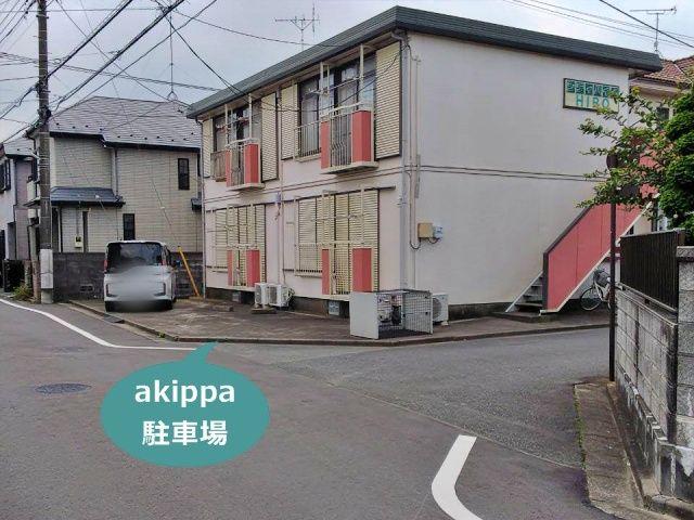 シティハイムHIRO駐車場