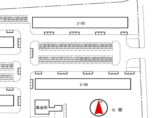 駐車場区画図2