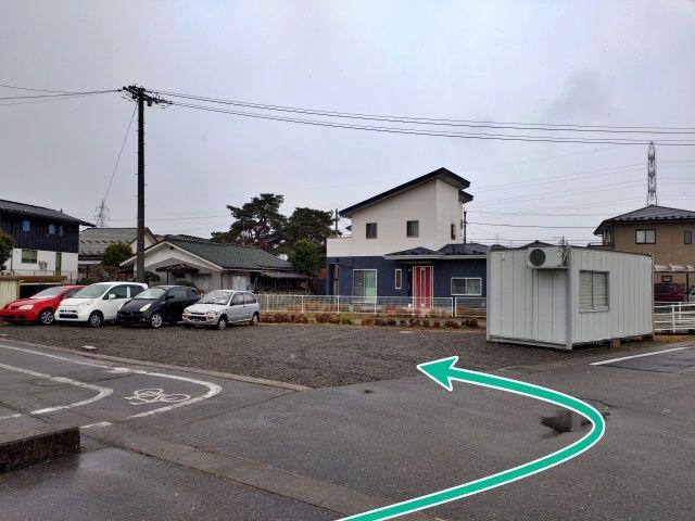 長野県安曇野市穂高8350-1駐車場の写真