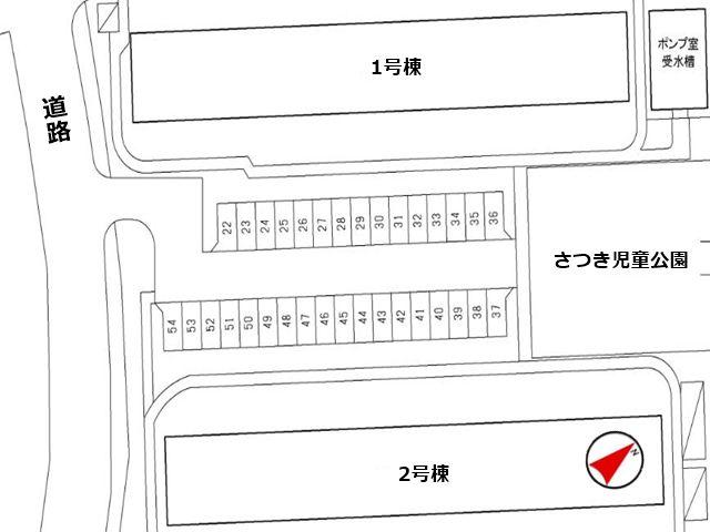 駐車場区画図1