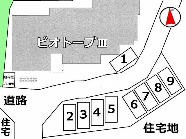 区画図の詳細です。