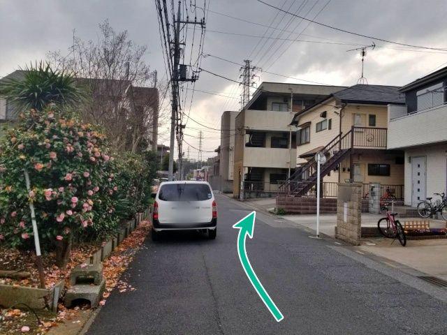 ハイム東川口敷地内駐車場