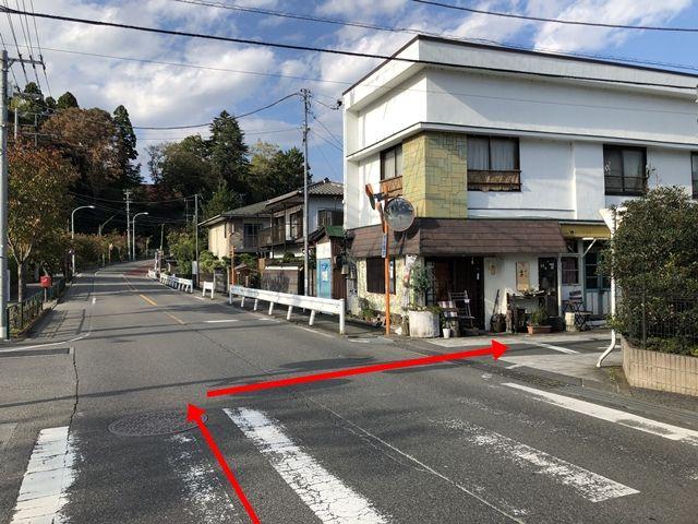 【道順2】廿里町交差点を右折してください