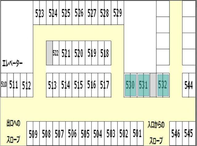 B5区画図