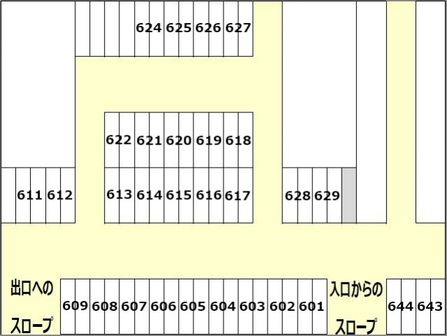 B6区画図