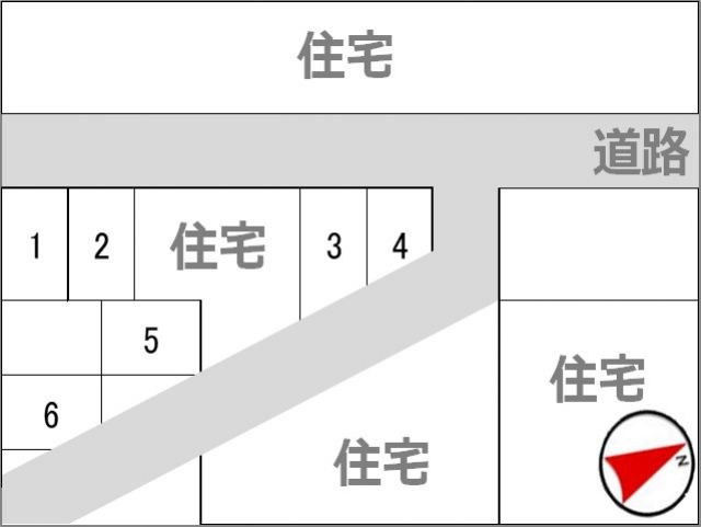 駐車場区画図※予約完了後に駐車いただくスペースを案内します※