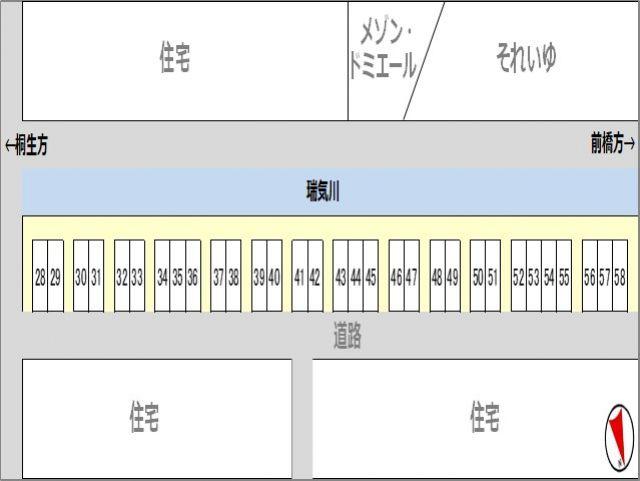 28~58駐車場区画図