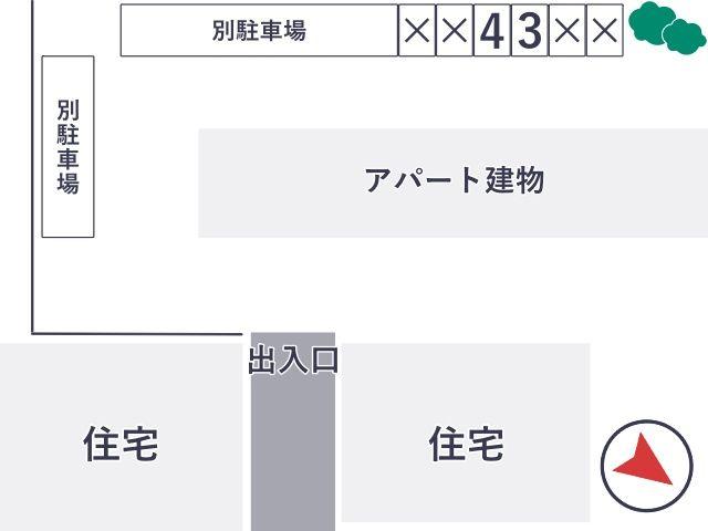 コンフォートヒル 駐車場【No.4】の写真