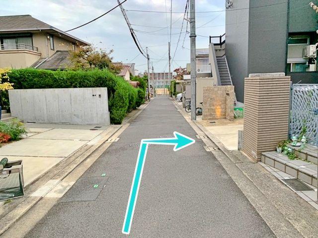 堺市東区西野(登美丘高校裏)駐車場【2】の写真