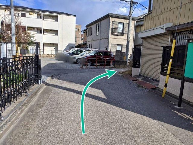 柳川邸:大成町1丁目駐車場