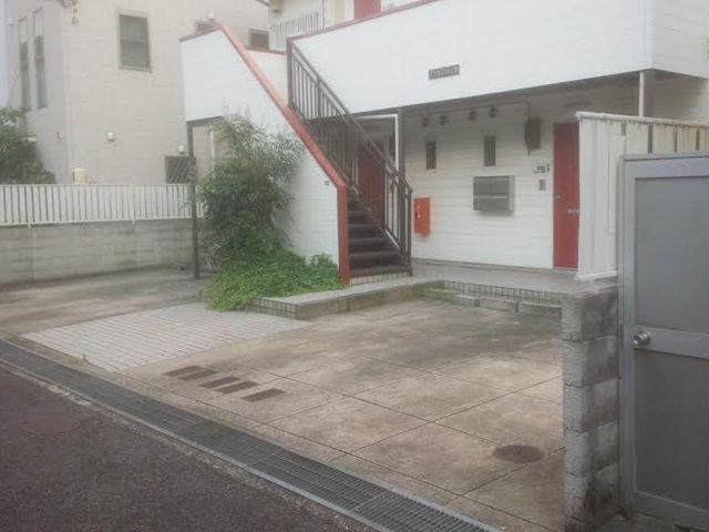 【道順4】こちらがakippa駐車場となります。