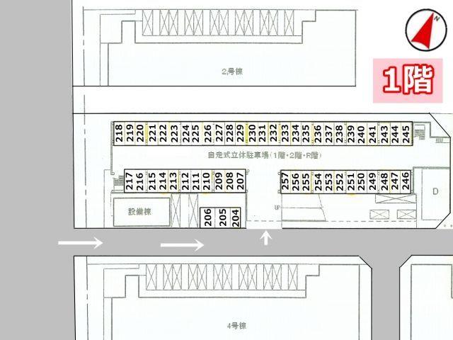 【※要確認※】1階部分の区画図です。