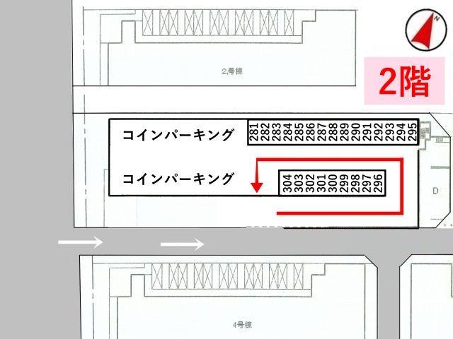 【※要確認※】2階部分の区画図です。