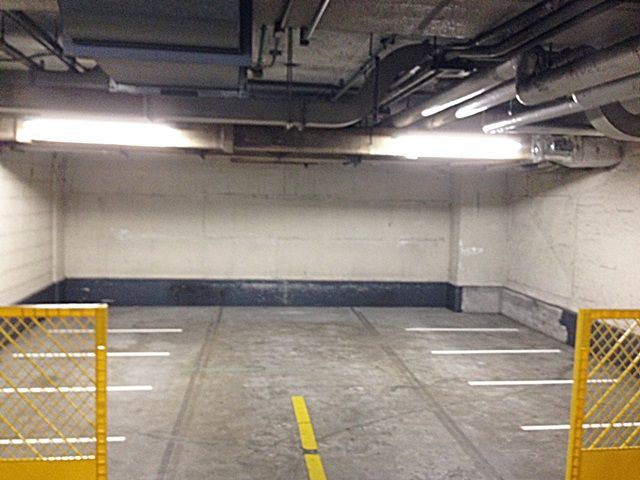 【道順3】反対側のバイク駐車場です。係員の指示に従い指定された番号の区画に駐車下さい。