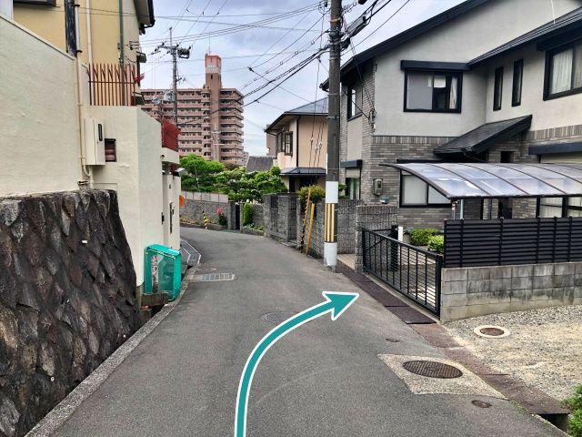 坂田宅香里園駅徒歩10分駐車場の写真