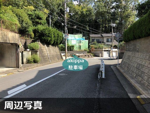 青山台住宅駐車場(2)