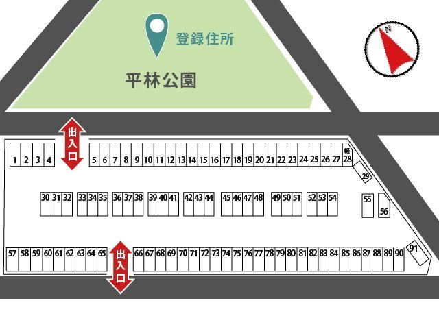 駐車区画図詳細
