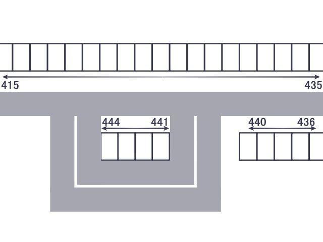 4階駐車場区画図