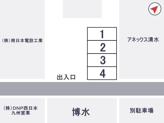博水駐車場【日祝:7:00~23:59まで】