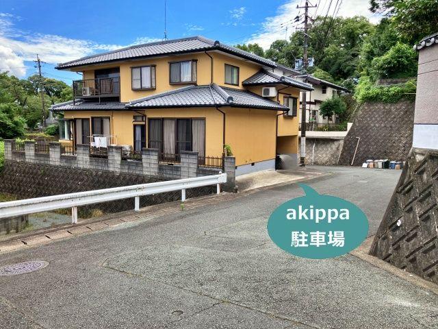 熊本駅から車で3分藤本邸駐車場