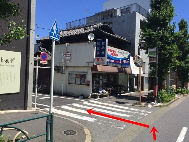 【道順1】大通りからこちらの角に入ってください。