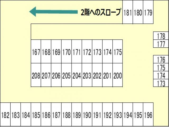 立体駐車場内詳細区画図