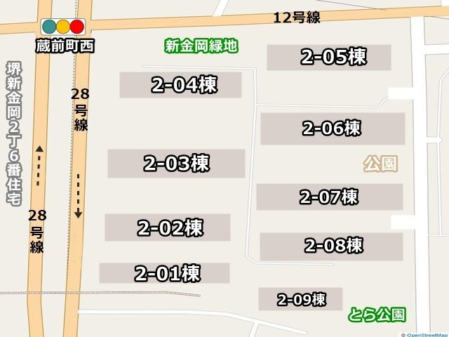 駐車場周辺地図