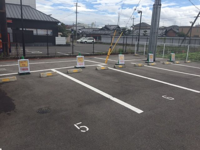 ご予約完了後、駐車が可能となります。
