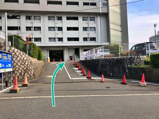 竹見台団地駐車場(0088)