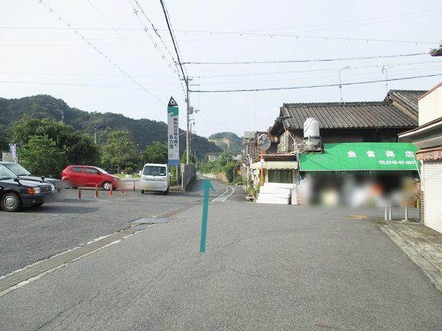 吉野口駅です。ここから北へ90m進みます。