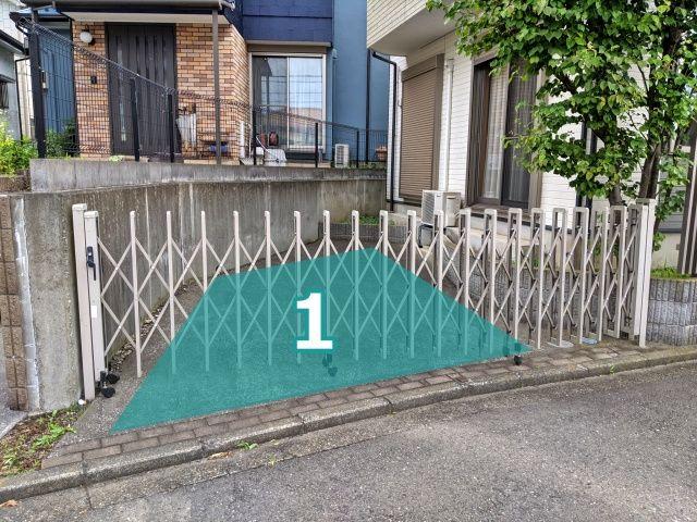 吉井邸:篠原町駐車場