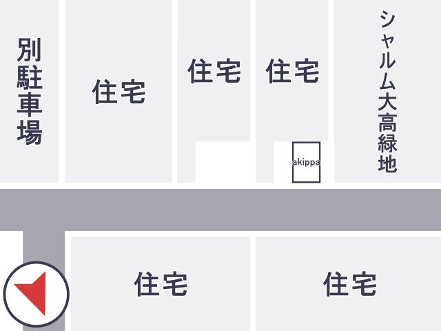 鳴海高校周辺駐車場