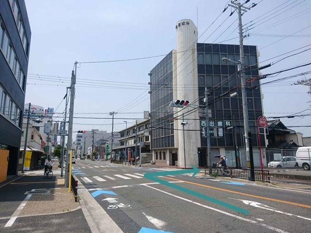 【道順1】沼町北交差点を右折してください。