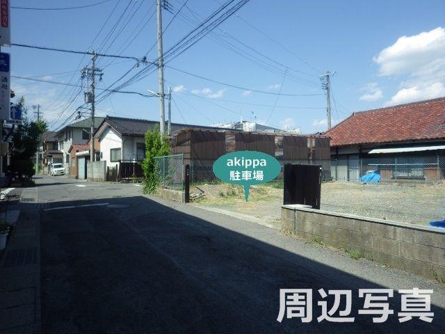岡谷市中央町2-9 akippa駐車場の写真