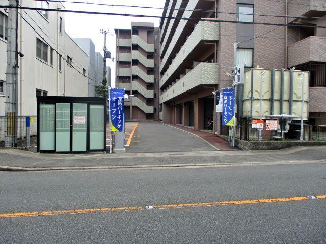 区画図を確認して、スペース番号の通りに駐車してください