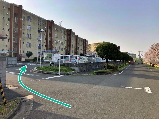 村野団地駐車場【A-1号棟前】(0076)