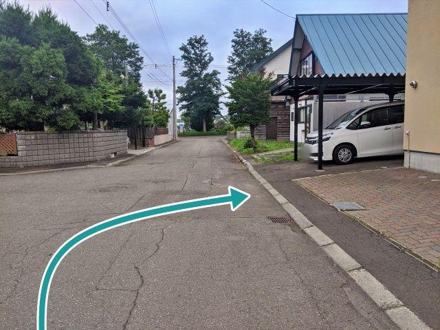 アイスアリーナ吉岡宅akippa駐車場の写真