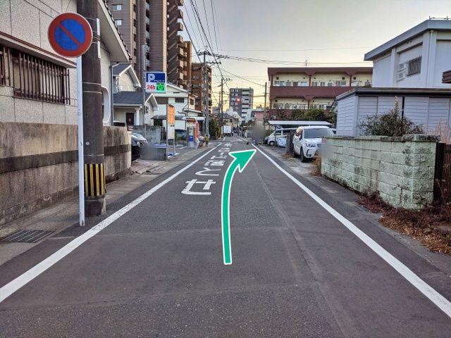 久保邸:武町2丁目月極駐車場の写真
