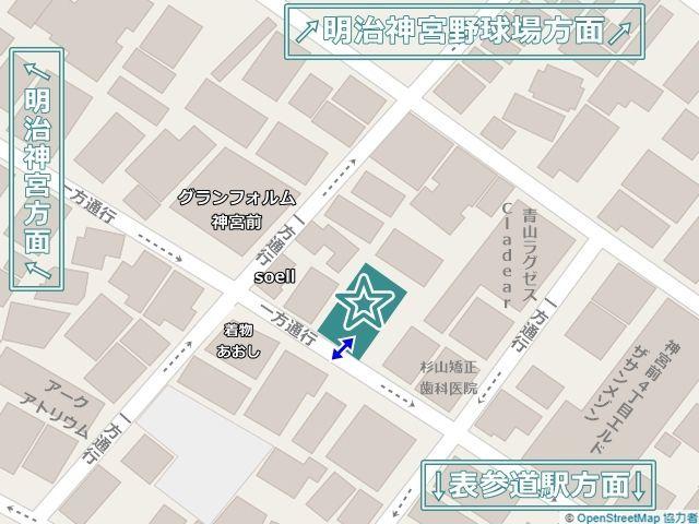 近隣の周辺地図です。