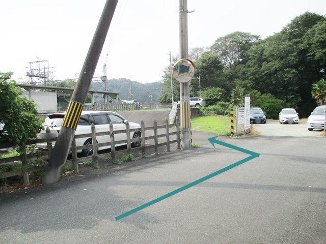 こちらが駐車場です。