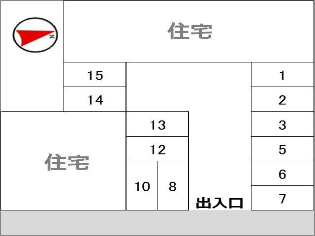 駐車場区画図