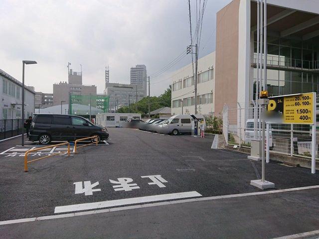 第二駐車場全体