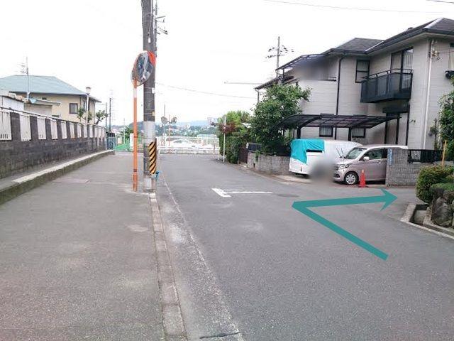 【道順1】矢印方向に進入してください。