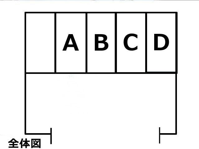 駐車場の区画図になります。